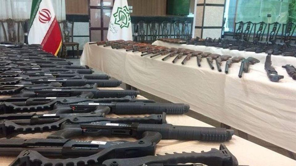 کشف 144 قبضه سلاح غیرمجاز در کردستان