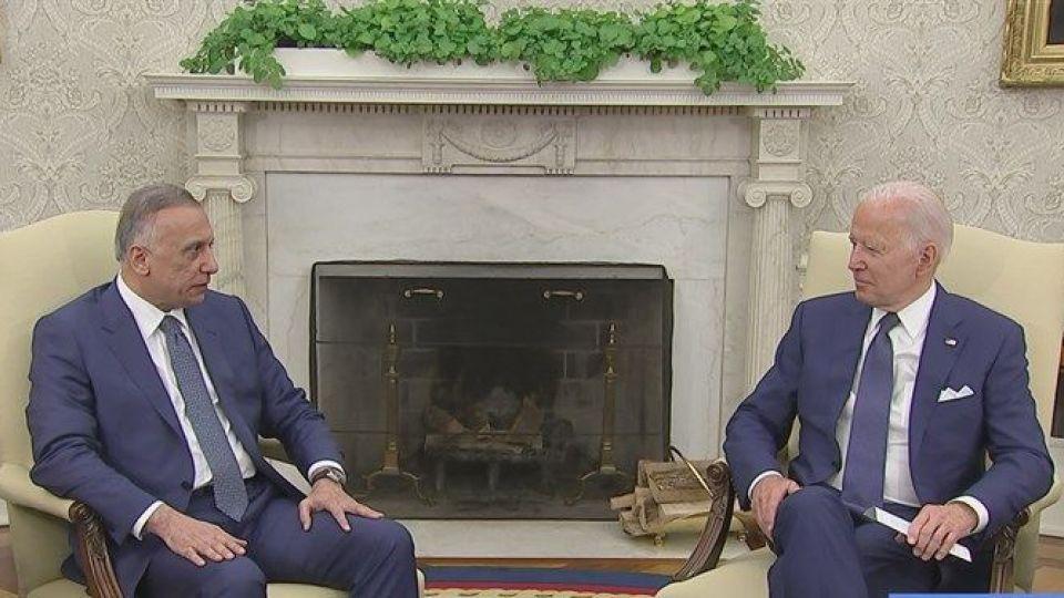 بیانیه پایانی دیدار بایدن و الکاظمی: اتمام مأموریت رزمی آمریکا در عراق در پایان 2021
