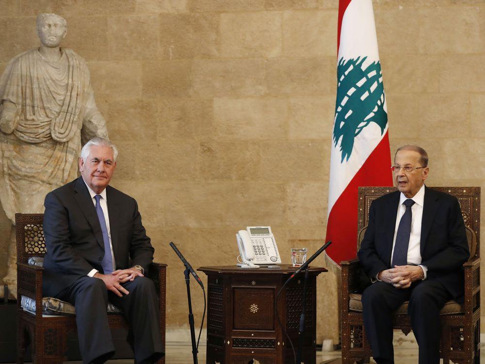 استقبال سرد از وزیر خارجه آمریکا در لبنان/ لحظات سخت و سنگین تیلرسون در کاخ بعبدا چگونه گذشت+ فیلم
