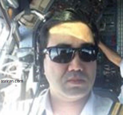 کمک خلبان و سرمهماندار پرواز ۳۷۰۴ تهران-یاسوج