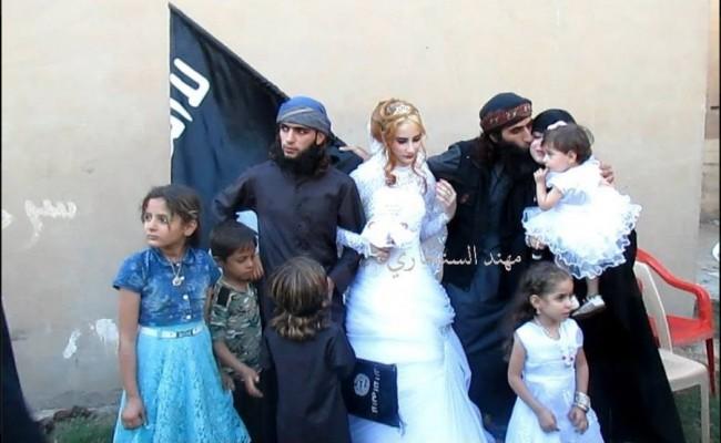 آرایشگاه فردا بوکان عکسهایی از جشن عروسی یک داعشی