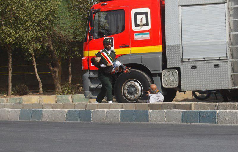 عکس حوادث تروریستی امروز اهواز
