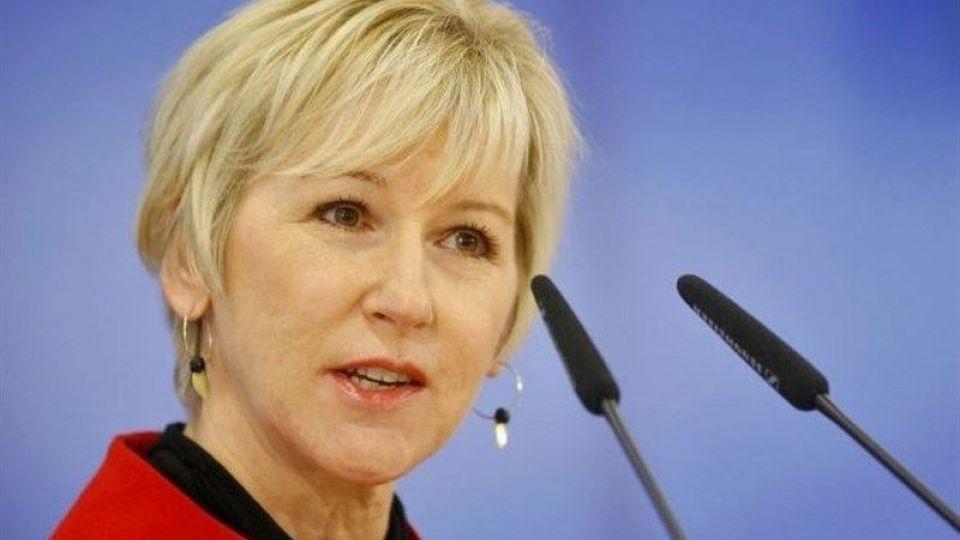نتیجه تصویری برای وزیر خارجه سوئد هم قربانی آزارجنسی است