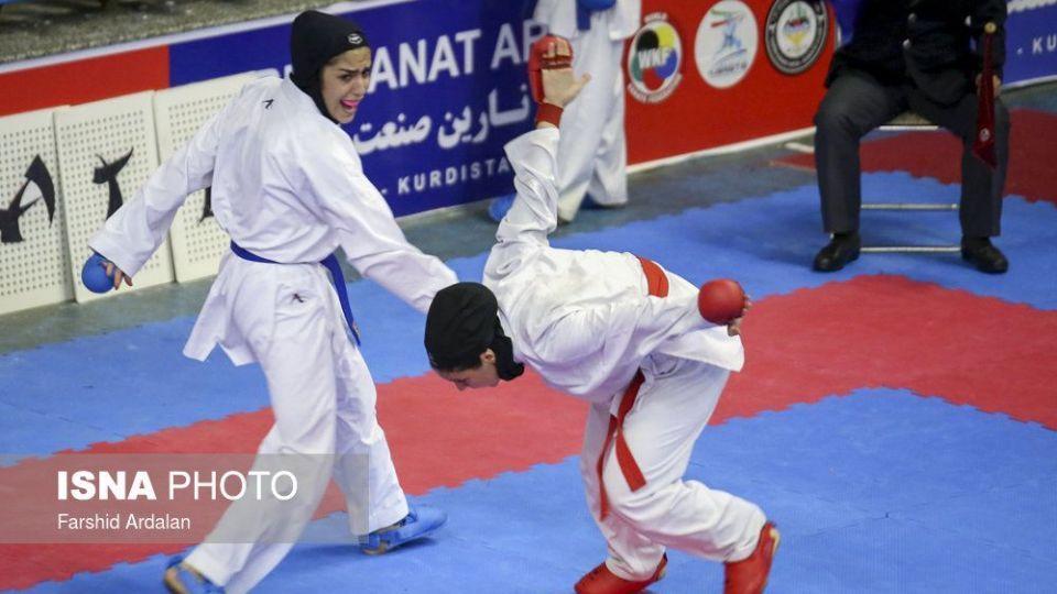 مسابقات کاراته قهرمانی دختران کشور - سنندج