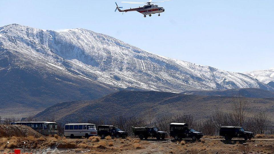 دومین روز حادثه سقوط هواپیما تهران -یاسوج ۲