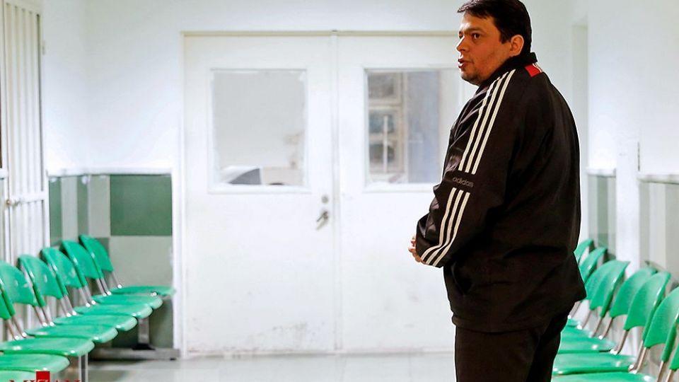 لحظات قبل از اجرای حکم اعدام حمید باقری درمنی