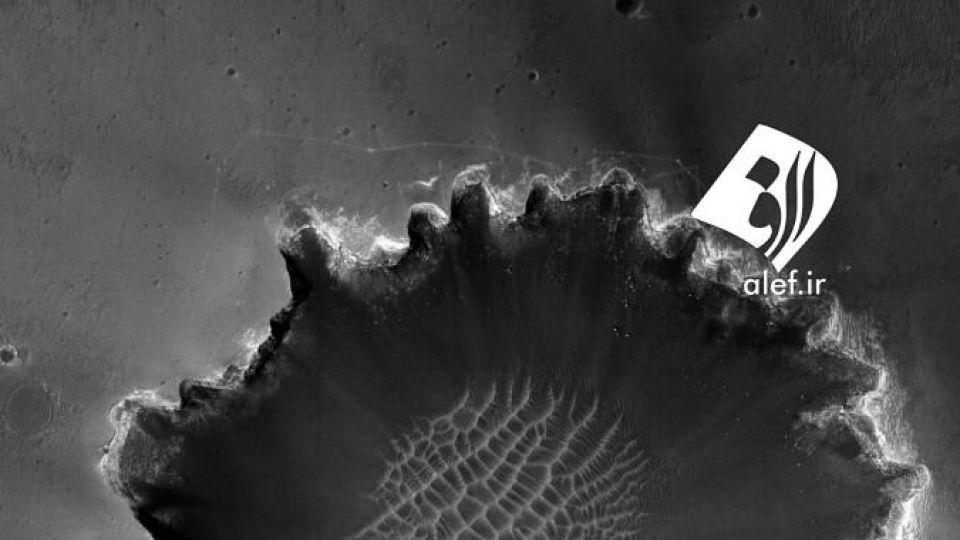تصاویر جدید ارسالی از مریخ