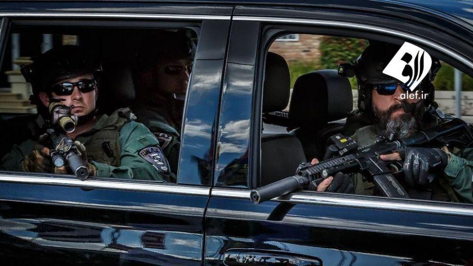 تیم امنیتی محافظ دونالد ترامپ