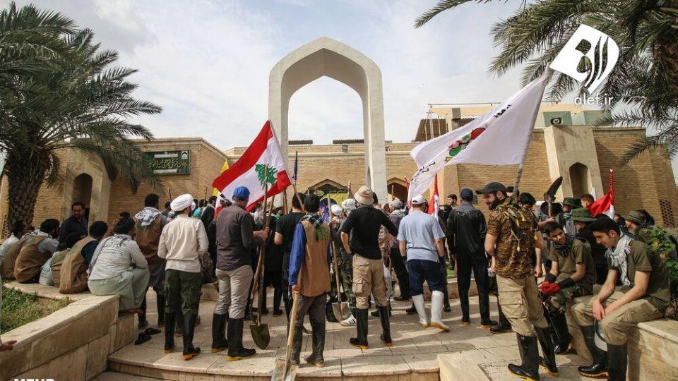 حضور جوانان لبنانی در امدادرسانی به مناطق سیلزده خوزستان - 3