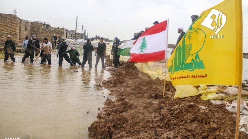 حضور جوانان لبنانی در امدادرسانی به مناطق سیلزده خوزستان - 7