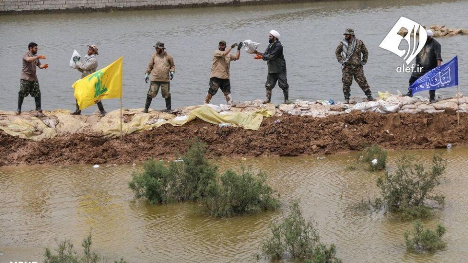 حضور جوانان لبنانی در امدادرسانی به مناطق سیلزده خوزستان - 13