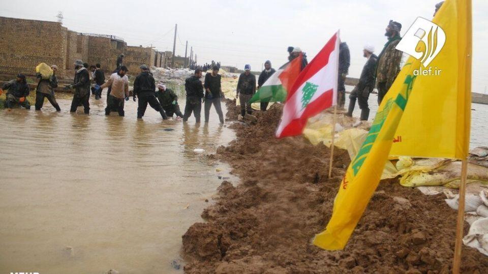 حضور جوانان لبنانی در امدادرسانی به مناطق سیلزده خوزستان - 15