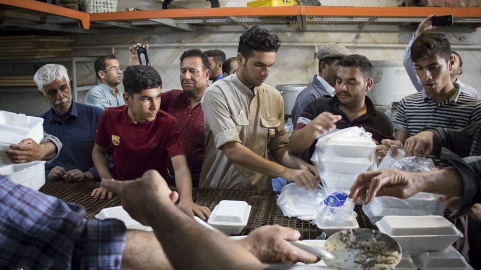امدادرسانی مواکب به سیلاب خوزستان - 5