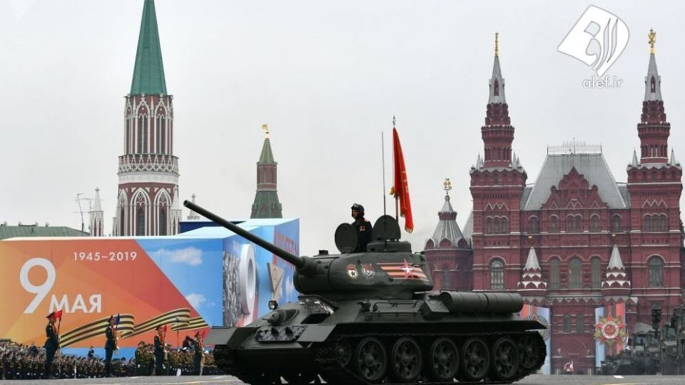 رژه روز پیروزی در مسکو