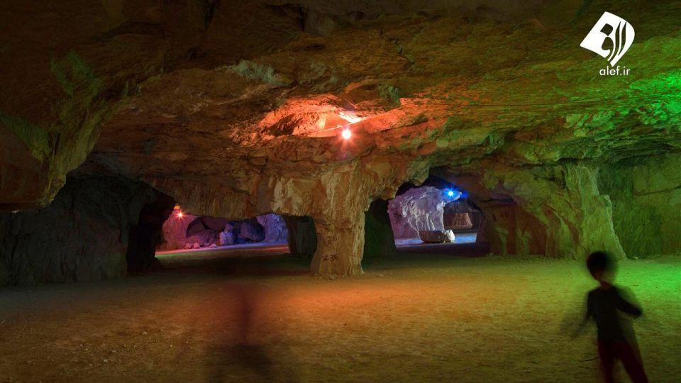 غار سنگشکنان جهرم