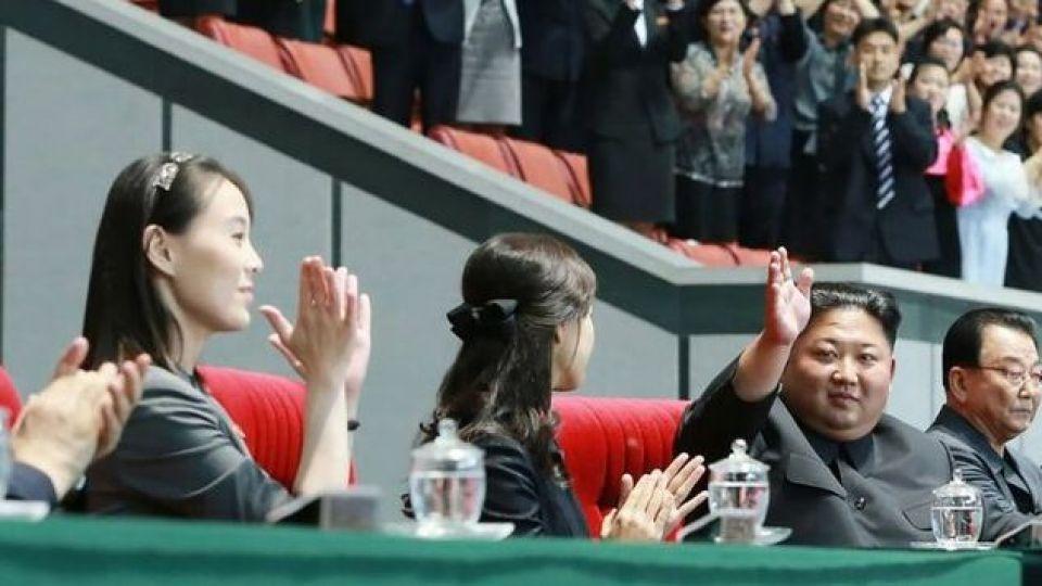 خواهر کیم جونگ اون پس از ۵۰ روز در انظار عمومی ظاهر شد