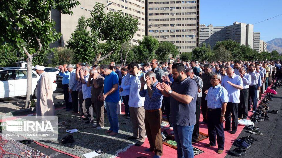 اقامه نماز عید فطر در شهرک اکباتان تهران