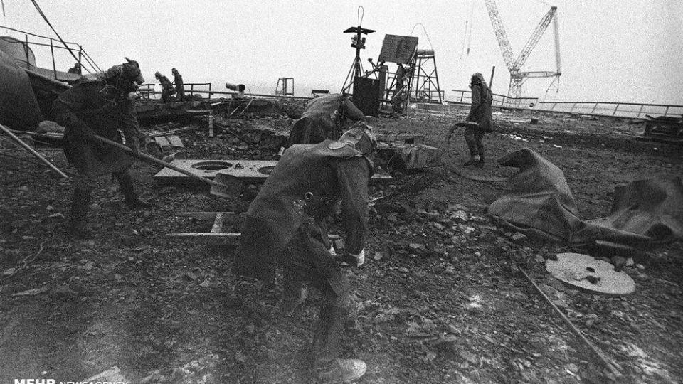 تصاویری از فاجعه چرنوبیل