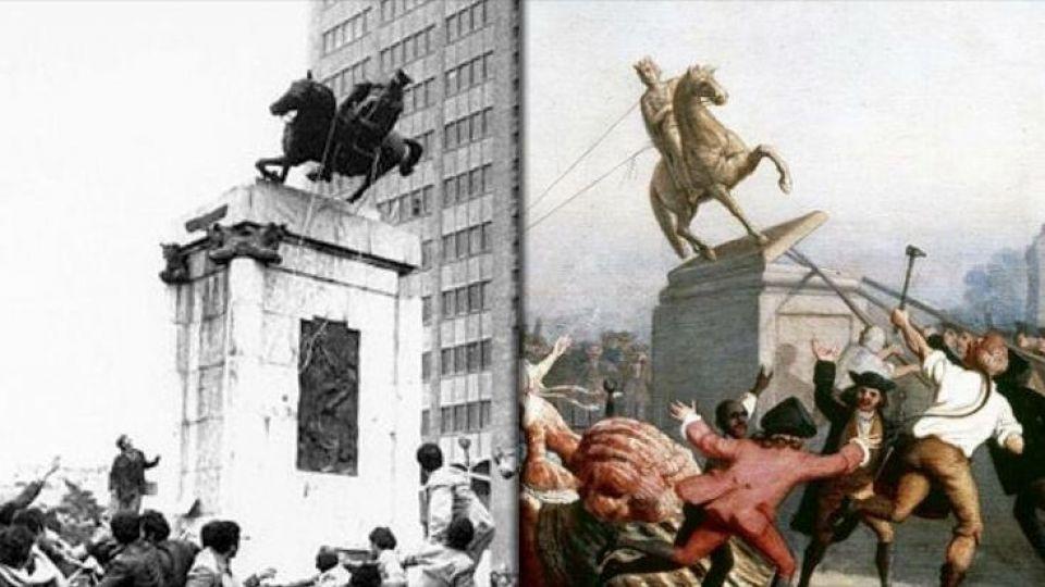 استقلال آمريكا و انقلاب ايران