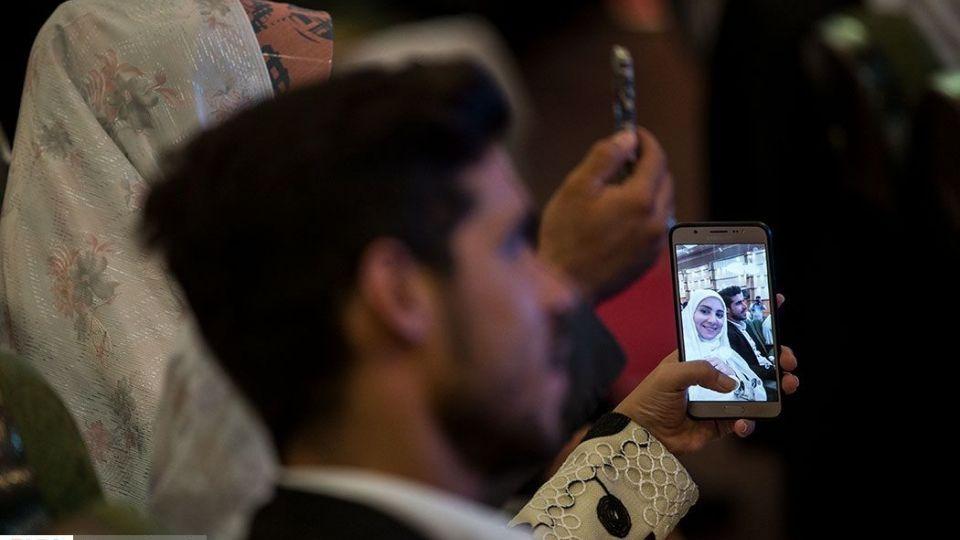 مراسم عقد ۲۲۰ زوج بسیجی