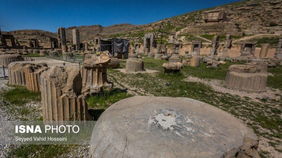 روایت تلخ ویرانی در پایتخت هخامنشیها