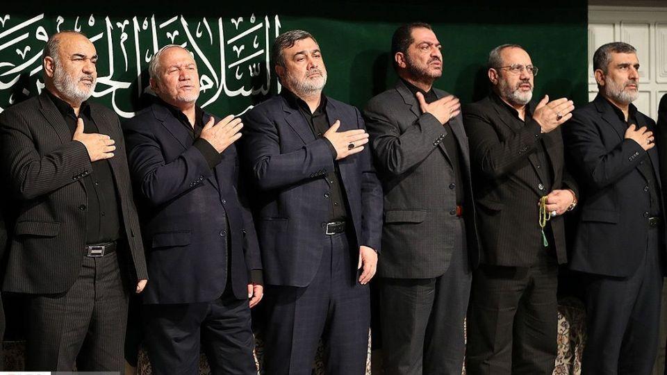 آخرین شب عزاداری سید الشهدا (ع)درحسینیه امام خمینی(ره)
