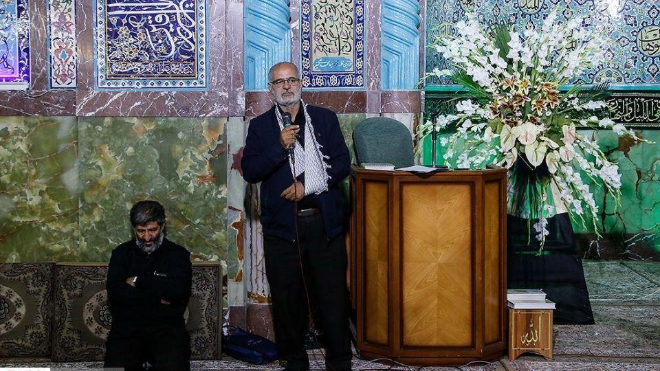 مراسم ترحیم پدر سردار سعید قاسمی