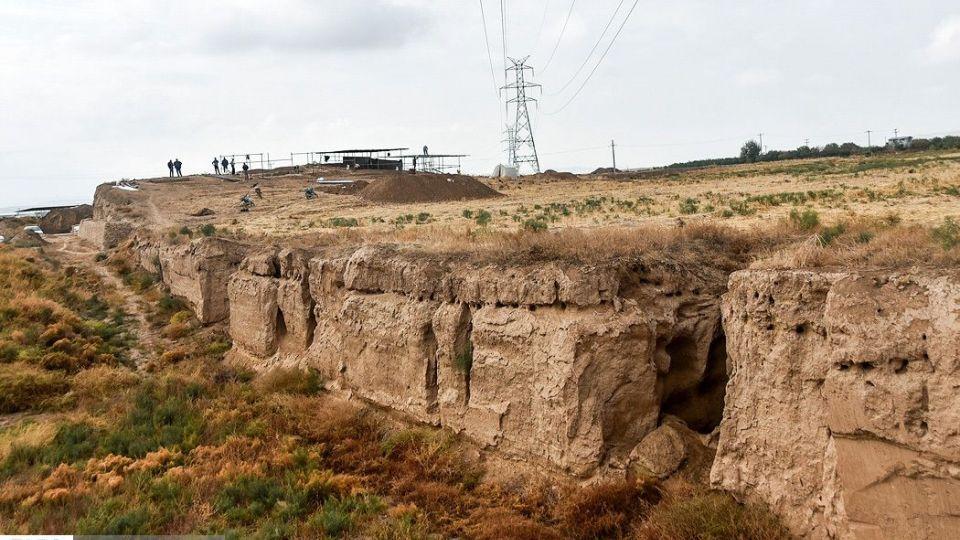 کشف بقایایی از دوران هخامنشی در خراسان شمالی