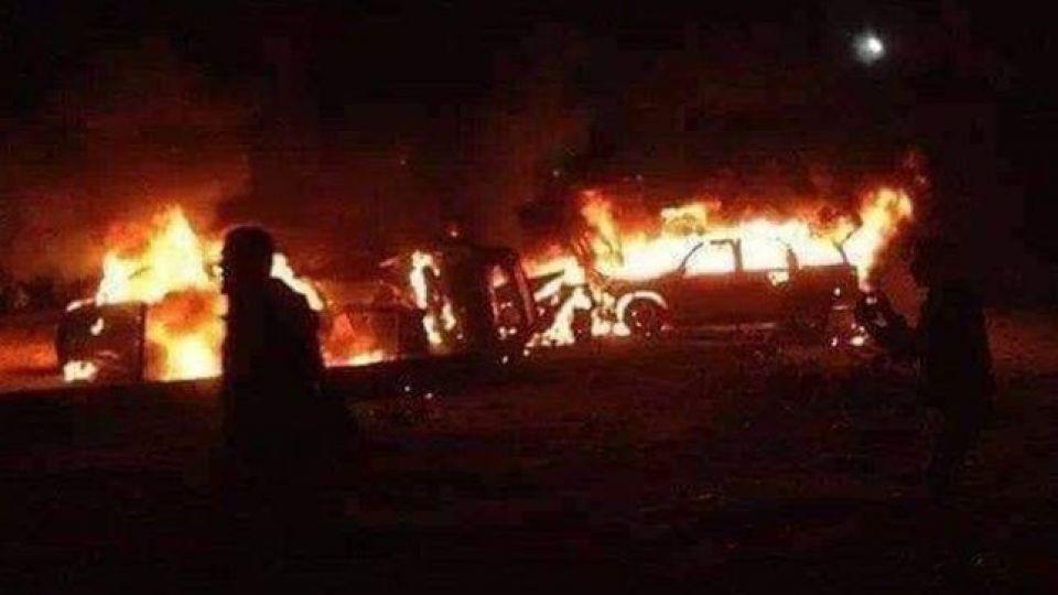 گروه پزشکی حشد الشعبی در شمال بغداد هدف حمله هوایی قرار گرفت