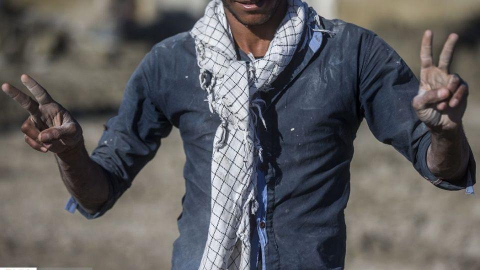 نیروهای جهادی در مناطق سیل زده