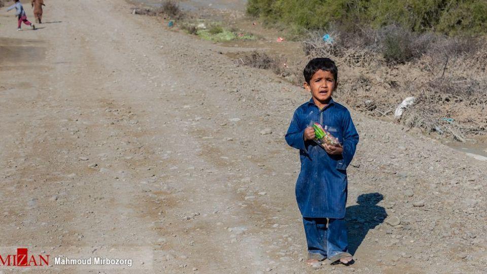 کودکان سیل سیستان و بلوچستان
