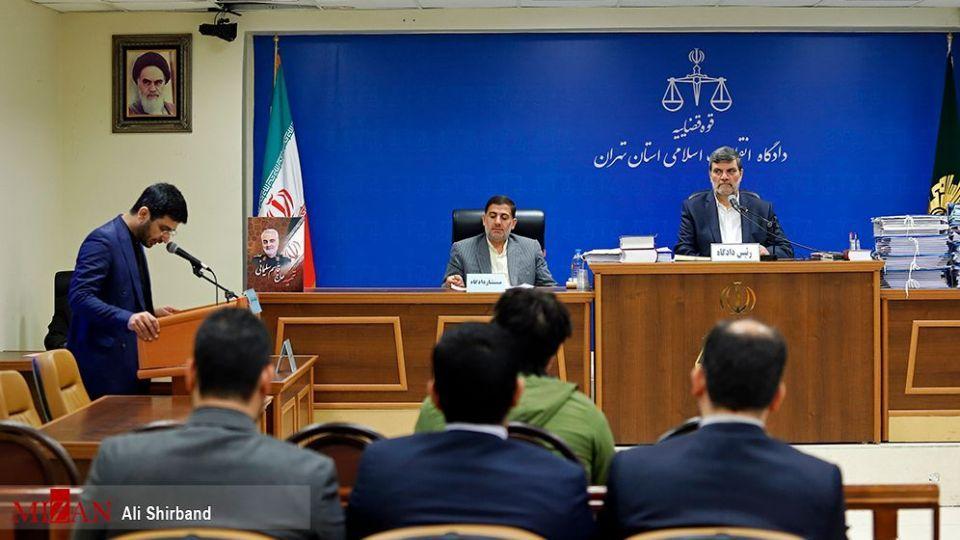 نخستین جلسه دادگاه رسیدگی به پرونده روح الله زم