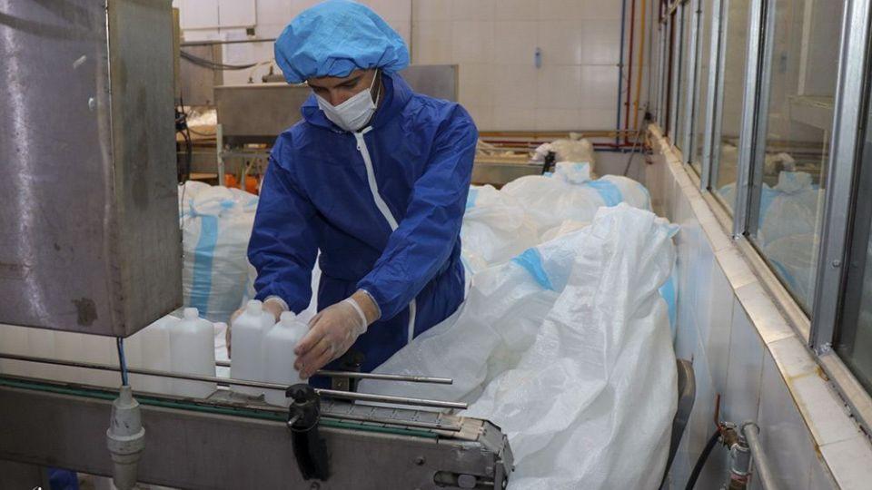 کارخانه تولید ژل ضدعفونی