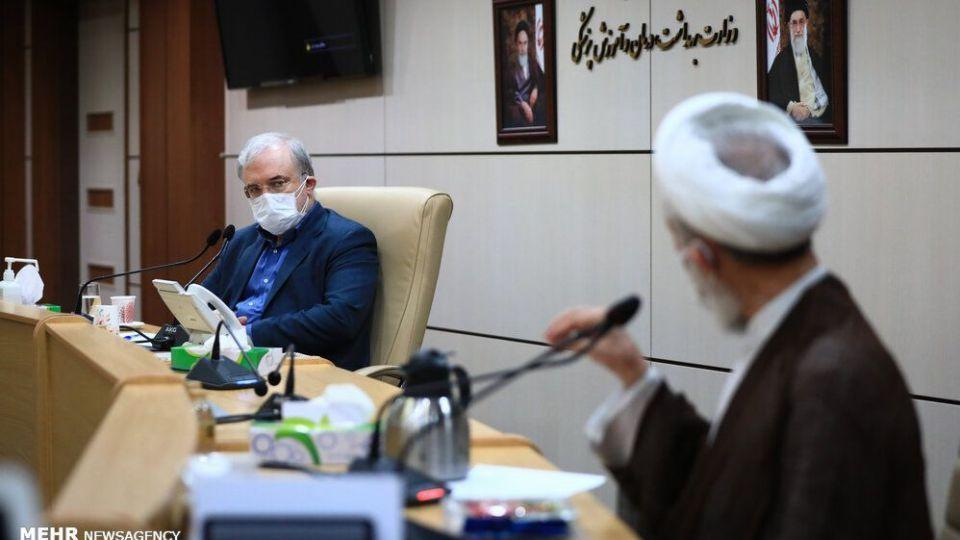 نشست مداحان و وعاظ با وزیر بهداشت