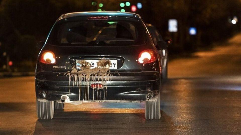 جریمه ۳ تا ۶ میلیون تومانی برای مخدوش کردن پلاک خودرو