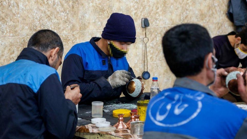 کارآفرینی در خلوت زندان - اصفهان