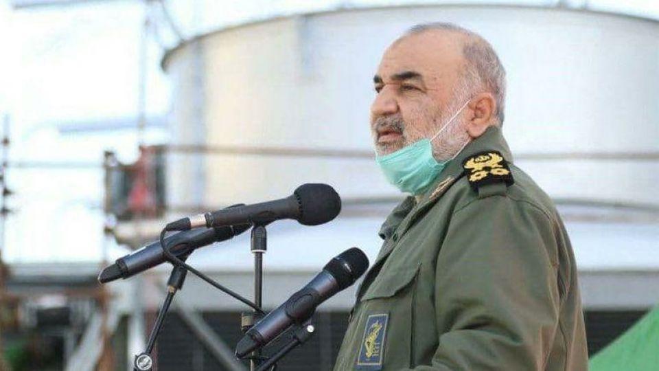 سرلشکر سلامی: انقلاب اسلامی موجب فرسایش قدرت آمریکا شد/ دریا یکی از جبهه های دفاعی ما است