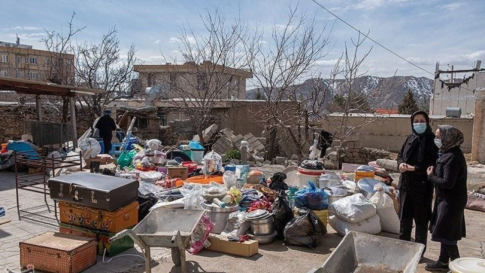 سی سخت ۸ روز پس از زلزله