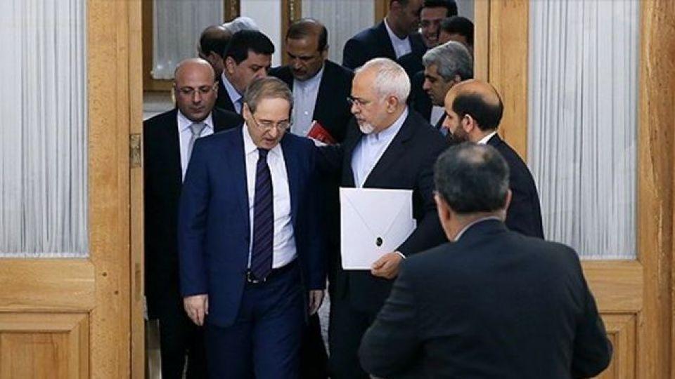 ظریف: حمایت ایران از سوریه به ویژه در زمینه مبارزه با تروریسم ادامه دارد