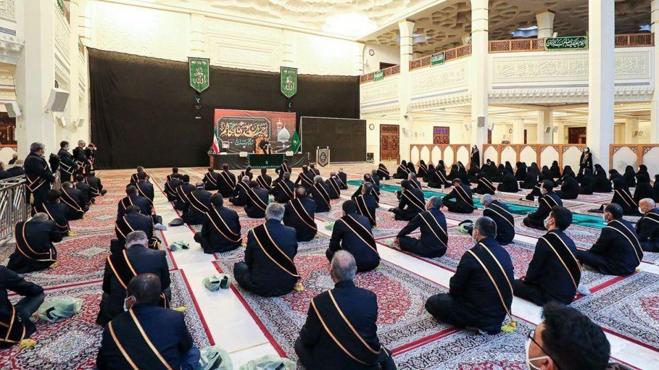 مراسم عزاداری شهادت حضرت شاهچراغ (ع)