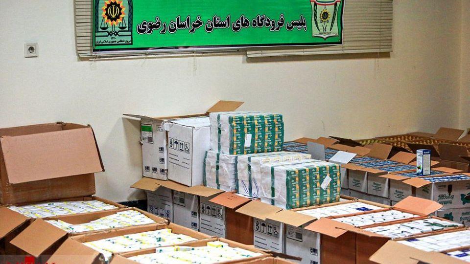 انهدام باند قاچاق دارو به خارج از کشور - مشهد