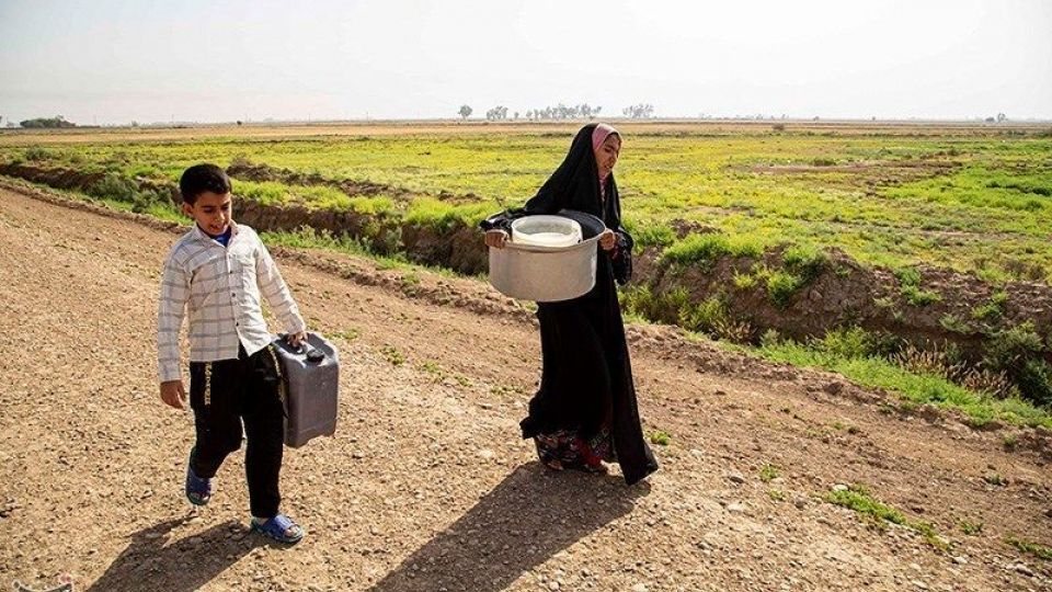حکایت تلخ آبگیری اهالی روستای خاور سیدخلف