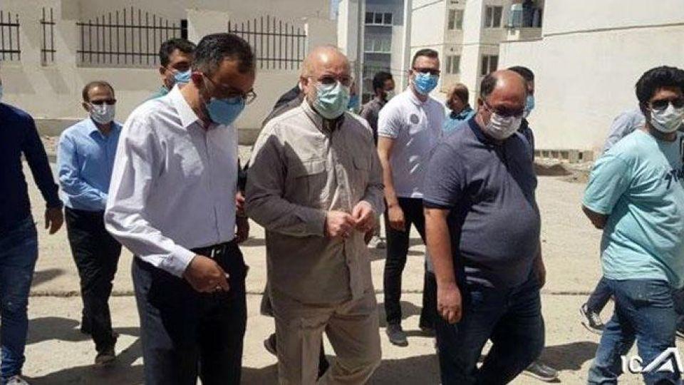 بازدید سرزده قالیباف از مسکن مهر پردیس / رئیس مجلس پای درد و دل مردم نشست