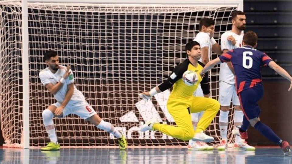 جام جهانی فوتسال | ایران مقابل مدافع عنوان قهرمانی مغلوب شد