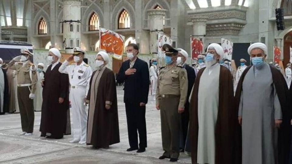 تجدیدمیثاق فرماندهان و کارکنان سازمان عقیدتی سیاسی ارتش با آرمان های امام (ره)