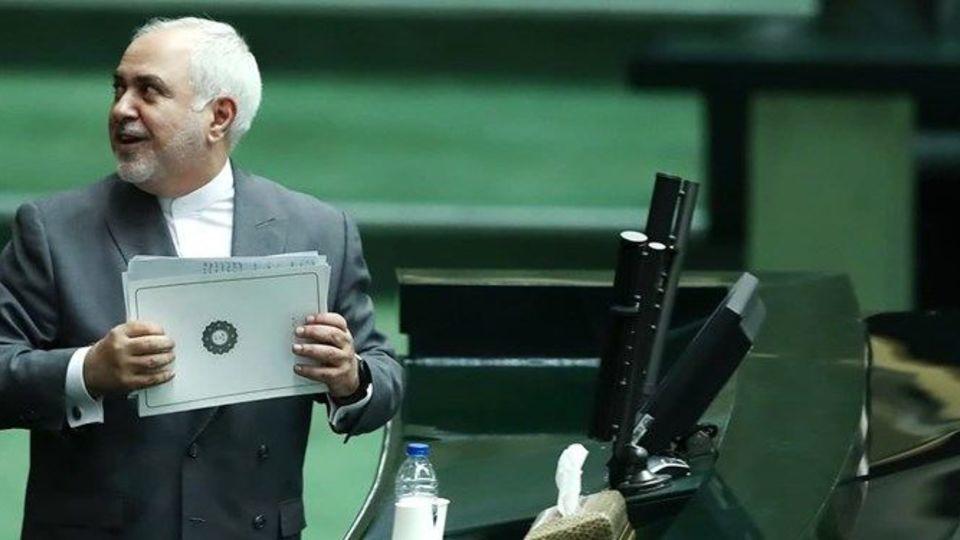نامه عضو هیات رئیسه کمیسیون اصل 90 به قالیباف در مورد عملکرد ظریف