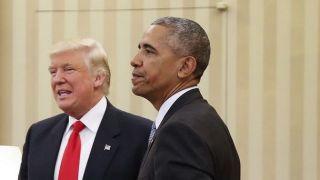 شکست ترامپ از اوباما در توئیتر