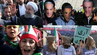 حاشیه های تصویری حضور مردم و مسئولین در راهپیمایی میلیونی 22 بهمن