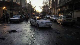 خیابان پاسداران بعد از آشوب دراویش