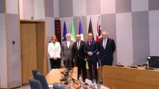 نشست بروکسل درباره برجام بدون آمریکا/ظریف: همه اتفاق نظر داشتند تا منافع اقتصادی مردم ایران به صورت عملی تضمین شود/موگرینی: متعهد شدیم گفتوگوها را با ایران آغاز کنیم